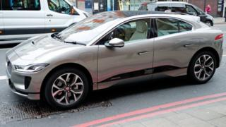 Dis na Sophie, Countess of Wessex Jaguar electric car