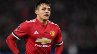 Alexis Sanchez a Manchester United