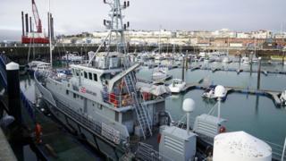 A Border Force cutter vessel