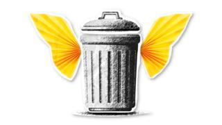 Trashcan index holding image