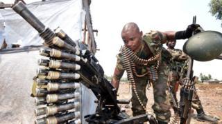 Près de 2000 armes de guerre saisies Congo-Brazzaville