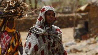 Une jeune femme soudanaise