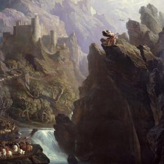 The Bard by John Martin, c. 1817. Image courtesy of Laing Art Gallery, Newcastle upon Tyne