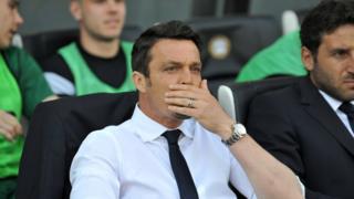 L'Udinese se sépare de Massimo Oddo.