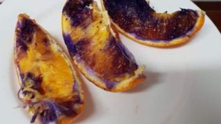 Фиолетовый апельсин