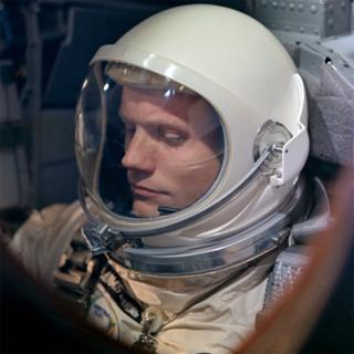 Neil Armstrong command pilot of the Gemini-8 spaceflight