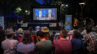 Seçmenler İmamoğlu-Yıldırım tartışmasını izlerken