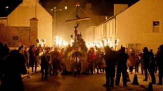 Scalloway Fire Festival