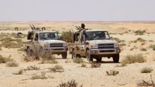 Sirte çevresinde IŞİD varlığına karşı devriye sıklığı artırıldı