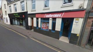 Ladbrokes in High Street, Maybole