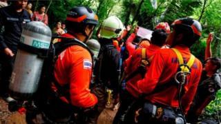 غواصان نیروی دریای تایلند