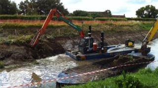 Somerset Levels dredging