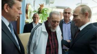 Putin ya ce ba za a manta da Castro ba