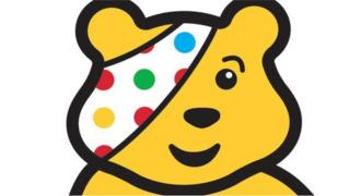 Pudsey Bear logo