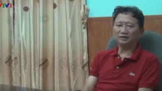 """Ông Trịnh Xuân Thanh nói lời """"xin lỗi"""" trong đoạn phim chiếu trong chương trình thời sự của VTV tối 3/8"""