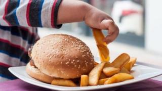 Çocuk hamburger tabağı