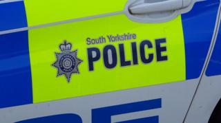 A South Yorkshire Police car
