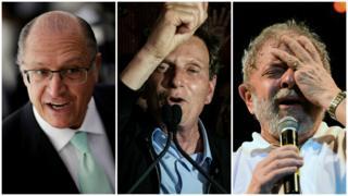 Geraldo Alckmin, Marcelo Crivella e Lula