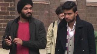 ब्रिटेन में भारतीय छात्र