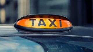 Generic taxi image