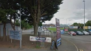 Taunton Town's ground