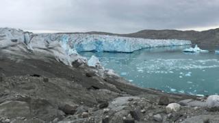 ธารน้ำแข็งในกรีนแลนด์