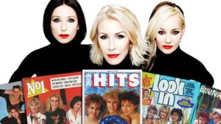 Bananarama and some of their 1980s magazine covers