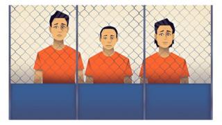 Hình minh họa cảnh người bị giam giữ trong trại Suan Phlu, Bangkok