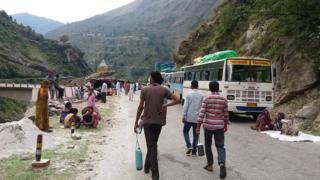 Bus di India