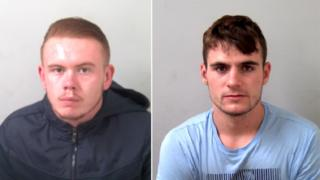 Callum Hutchins and Conall Regan were each jailed for 11 years
