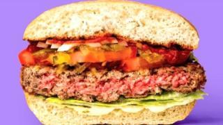 हा अगदी मांसाहारी बर्गर सारखाच दिसतो ना!