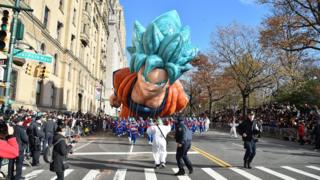 The Macy's Thanksgiving Parade