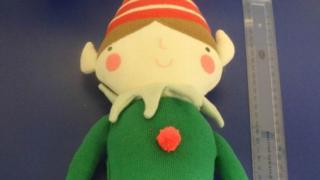 An elf toy