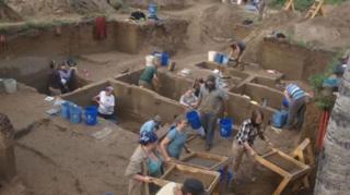 Upward Sun River arkeolojik kazı alanı