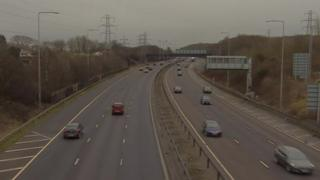 The collision was on the A2 near Bluewater