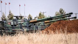 Turkish tanks, west of Karkamis, 3 September 2016
