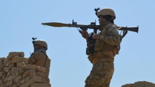 Авганистанске безбедносне снаге