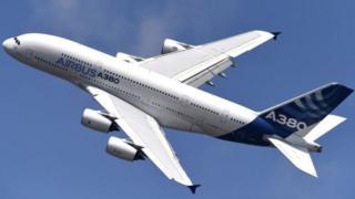 එයාර්බස් ගුවන් යානය A380