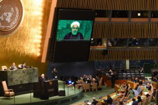 حسن روحانی تحریمهای ایران را تروریسم اقتصادی خوانده است