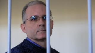 Paul Whelan in a defendant's cage in Moscow's court. Photo: August 2019
