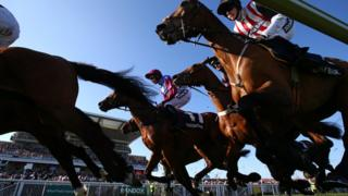 Doom Bar Sefton novices Hurdle Race at Aintree Racecourse