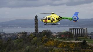Scottish charity air ambulance
