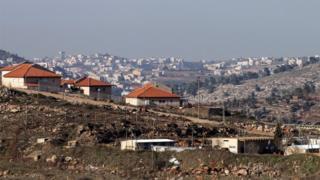 Дома на Западном берегу реки Иордан