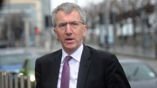 Finance Minister Máirtín Ó Muilleoir