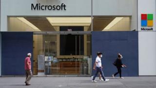 Microsoft office in New York