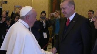 erdogan and pope