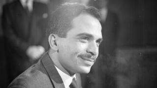 اردن کے شاہ حسین