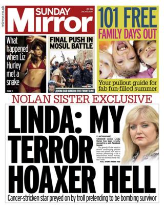 Mirror front page