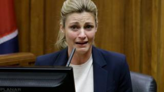 TV reporter Erin Andrews testifies