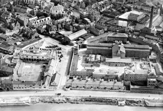 HMP Gloucester and the streets around it - September 1928